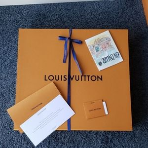 Louis Vuitton Gift Box, LV Ribbon HUGE, GIANT